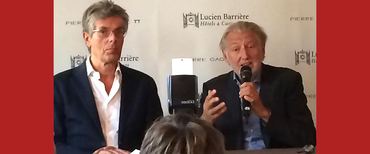 Pierre Gagnaire et Lucien Barrière