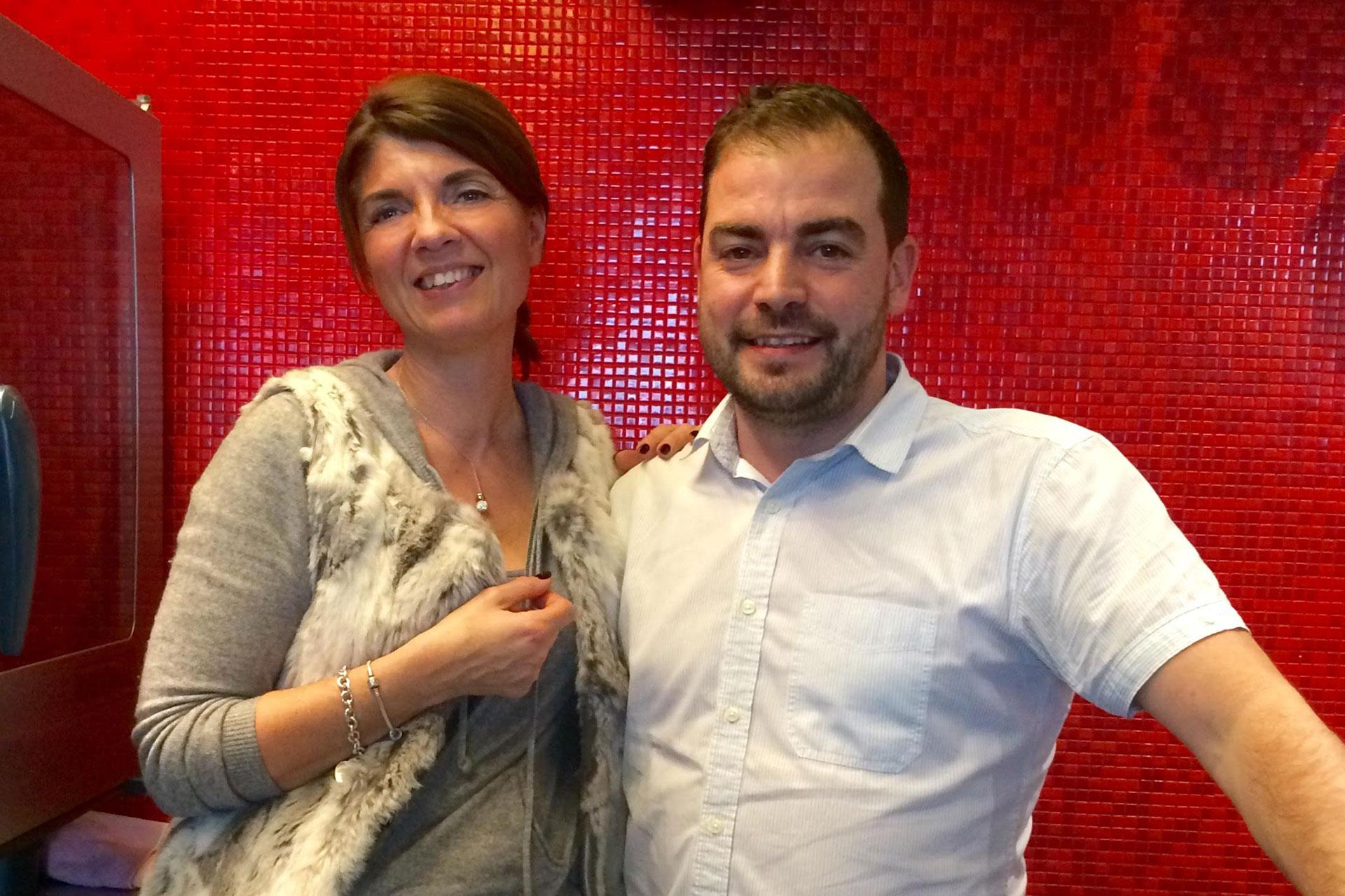 catherine Seiler et Alexandre Dionisio