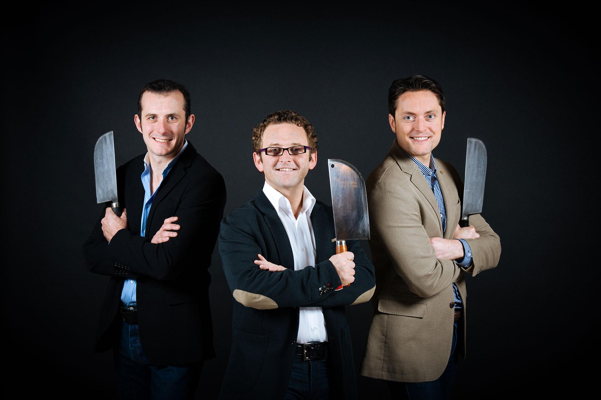 L'équipe du département Salons et Réceptions du Shangri-La Hotel Paris