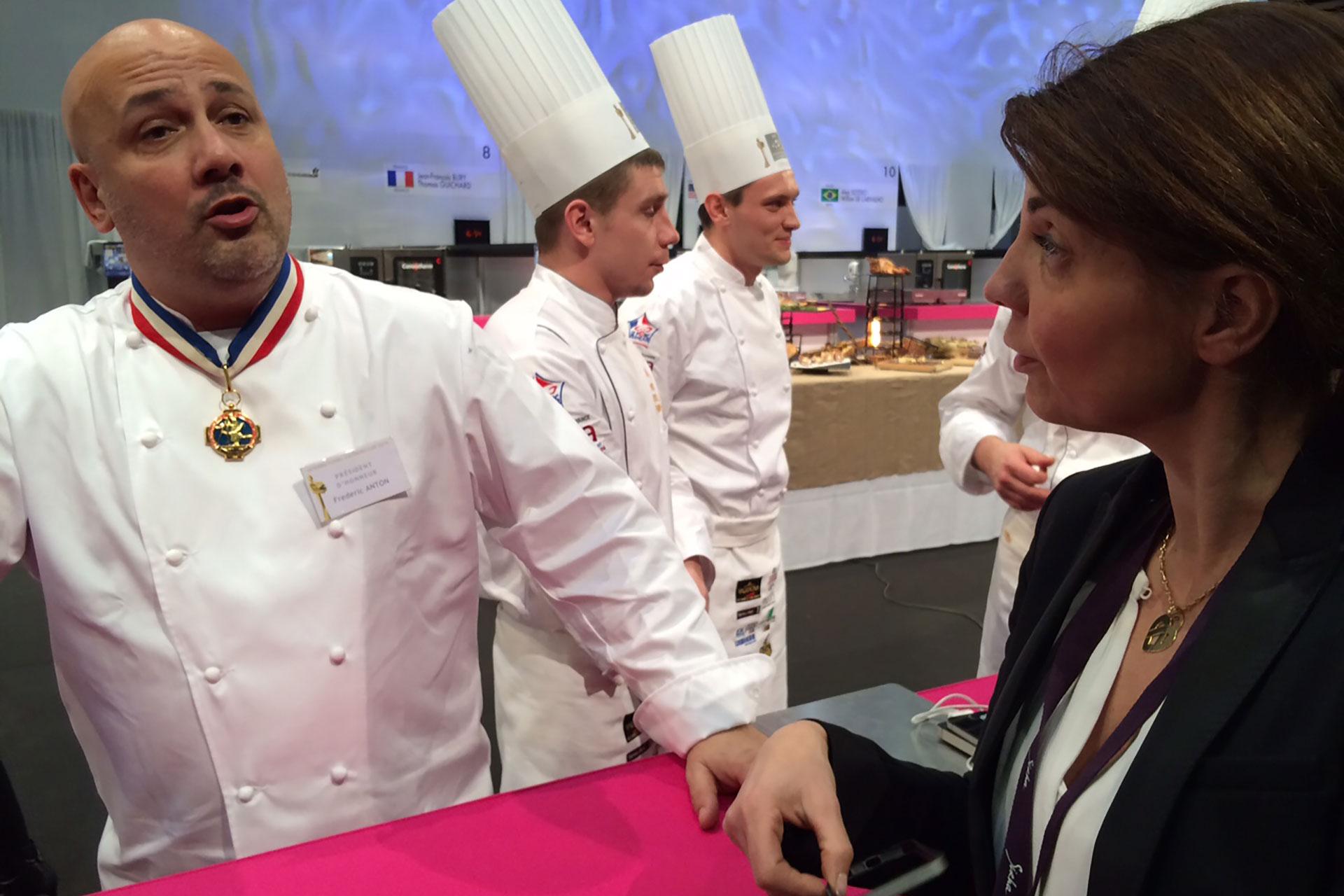 Frédéric Anton Président d'honneur du jury de l'International Catering Cup