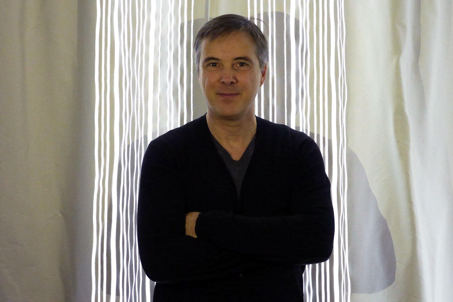 Olivier Lapidus, designer de l'Hôtel Félicien, credit photo: Jean-Charles Gesquière