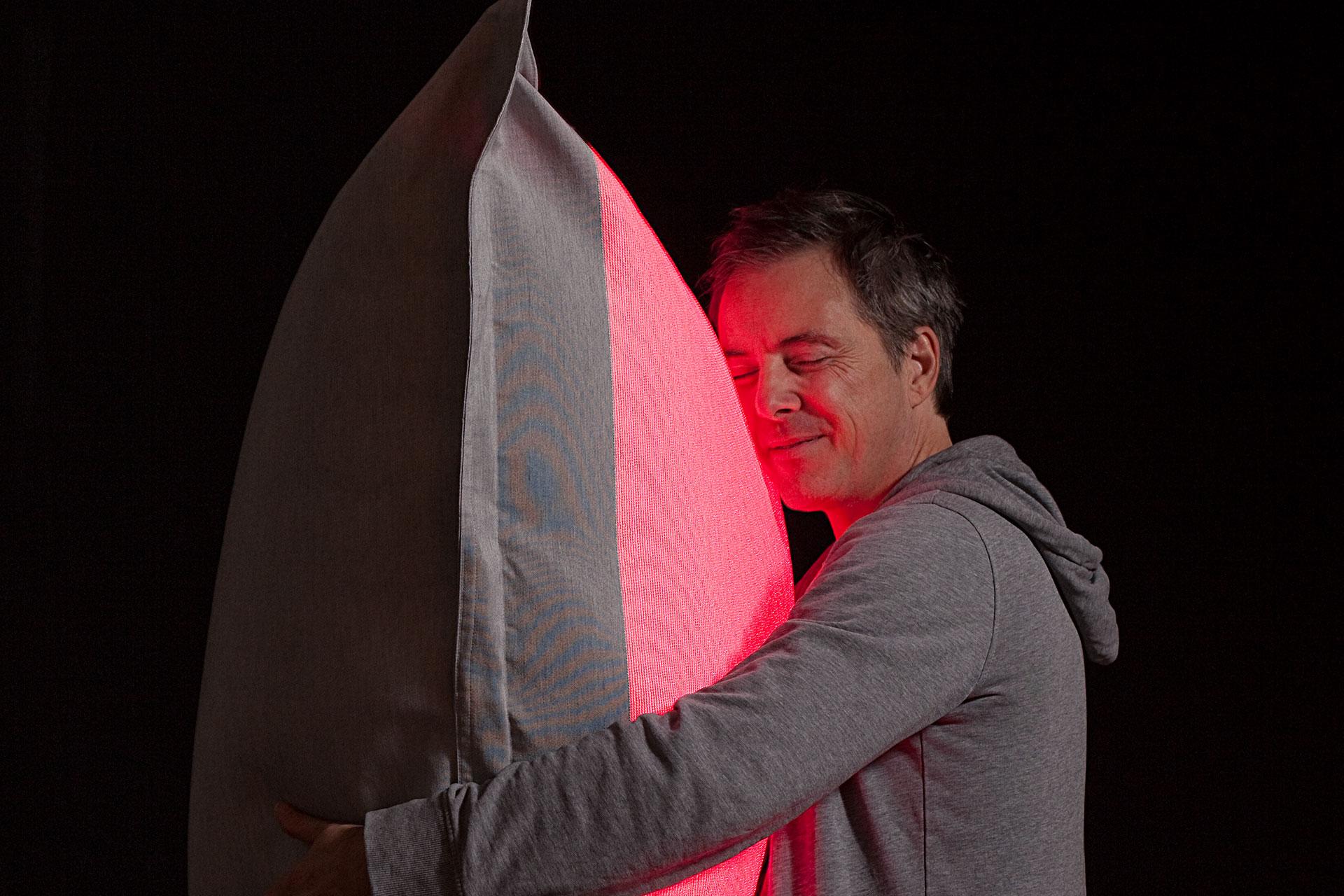 Olivier Lapidus, designer de l'Hôtel Félicien, photo: Shoky van des Horst