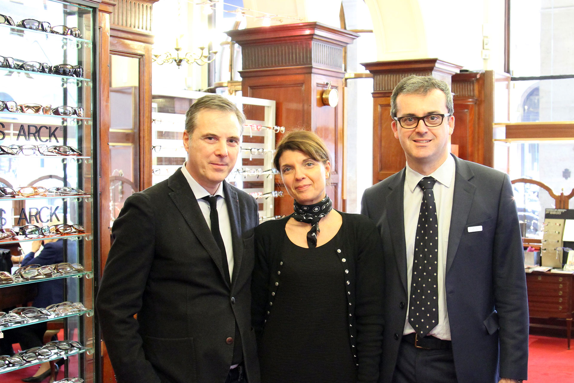 Olivier Lapidus, Catherine Seiler, Jean-Manuel Finot