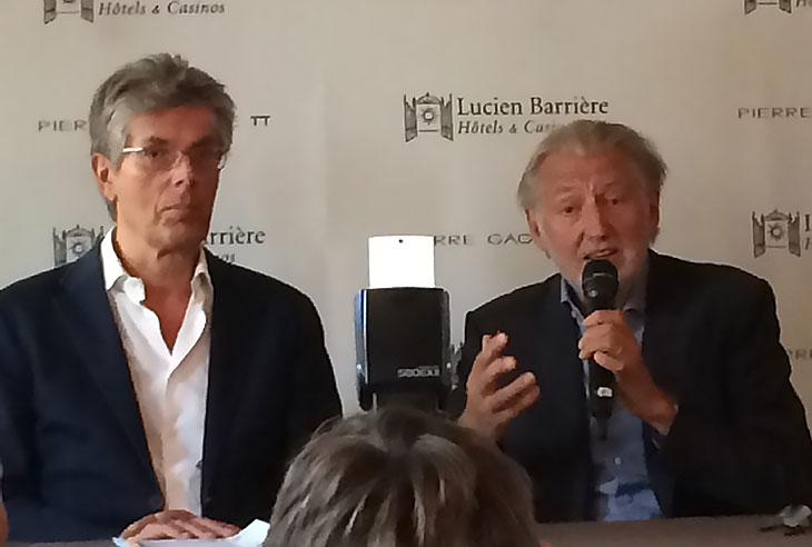 Dominique Desseigne et Pierre Gagnaire