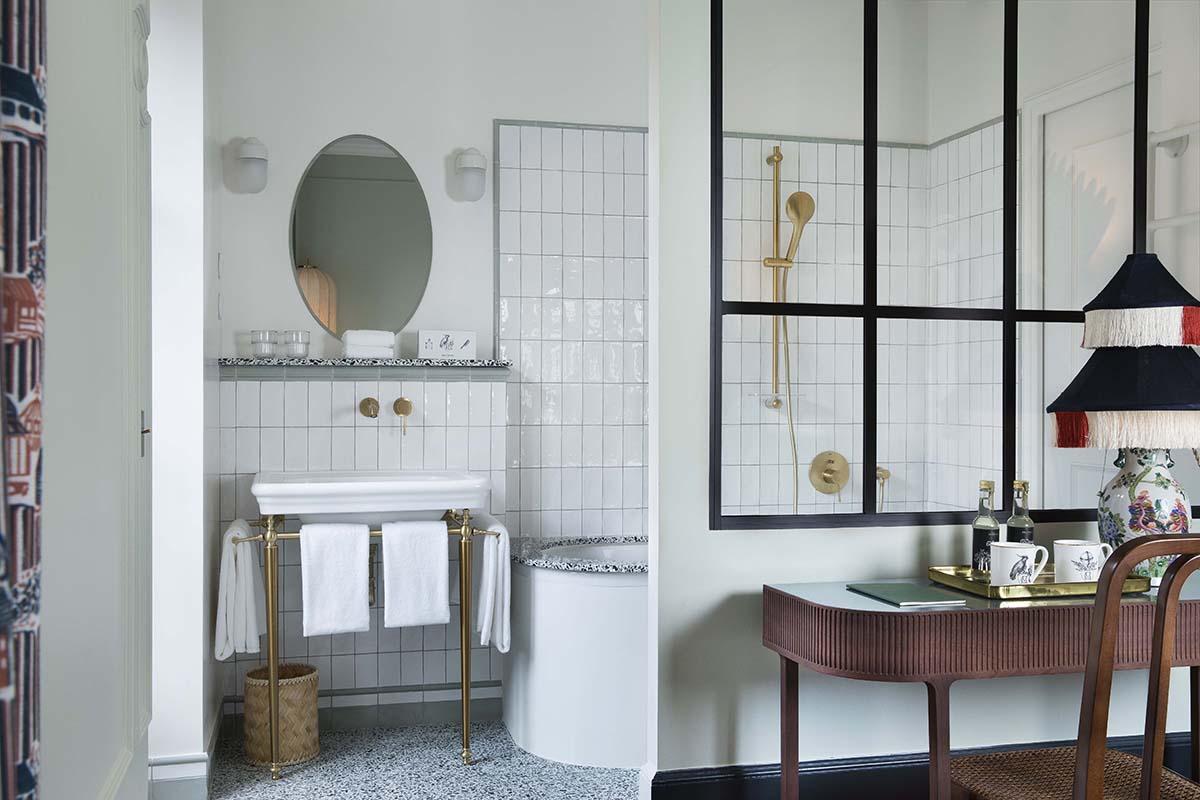 Le Monte Cristo Paris salle de bain