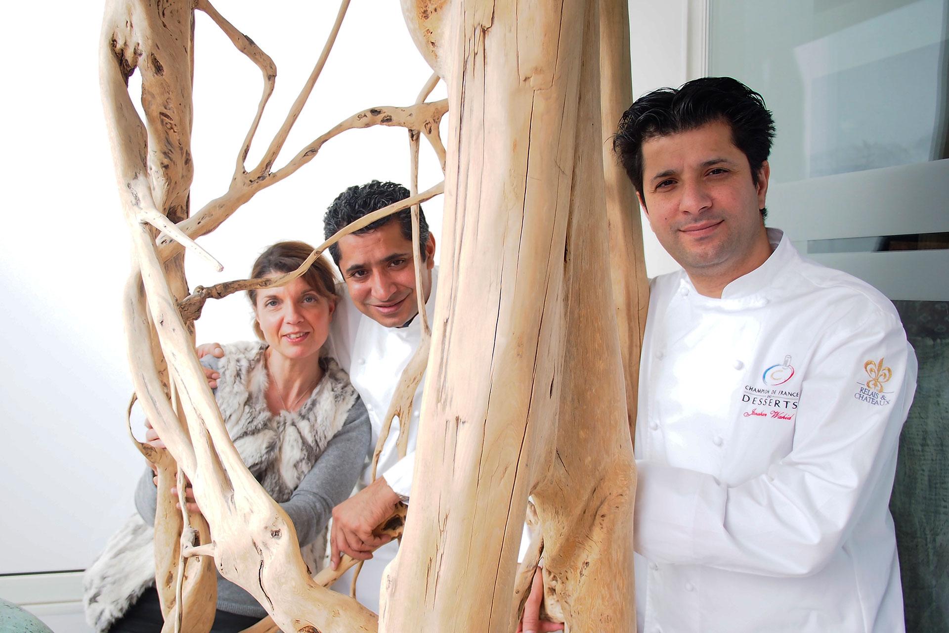 Sylvestre Wahid et Jonathan Wahid