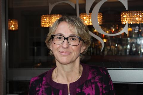 Anne Gerber, Directrice de l'hôtel M Gallery la Cour du Corbeau à Strasbourg