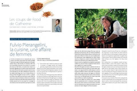 Fulvio Pierangelini, la cuisine, une affaire de femmes