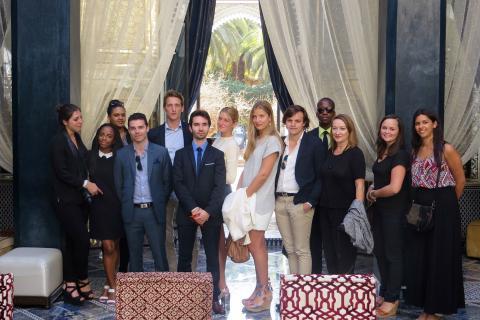 L'IEMI-CMH à la découverte du Royal Mansour Marrakech