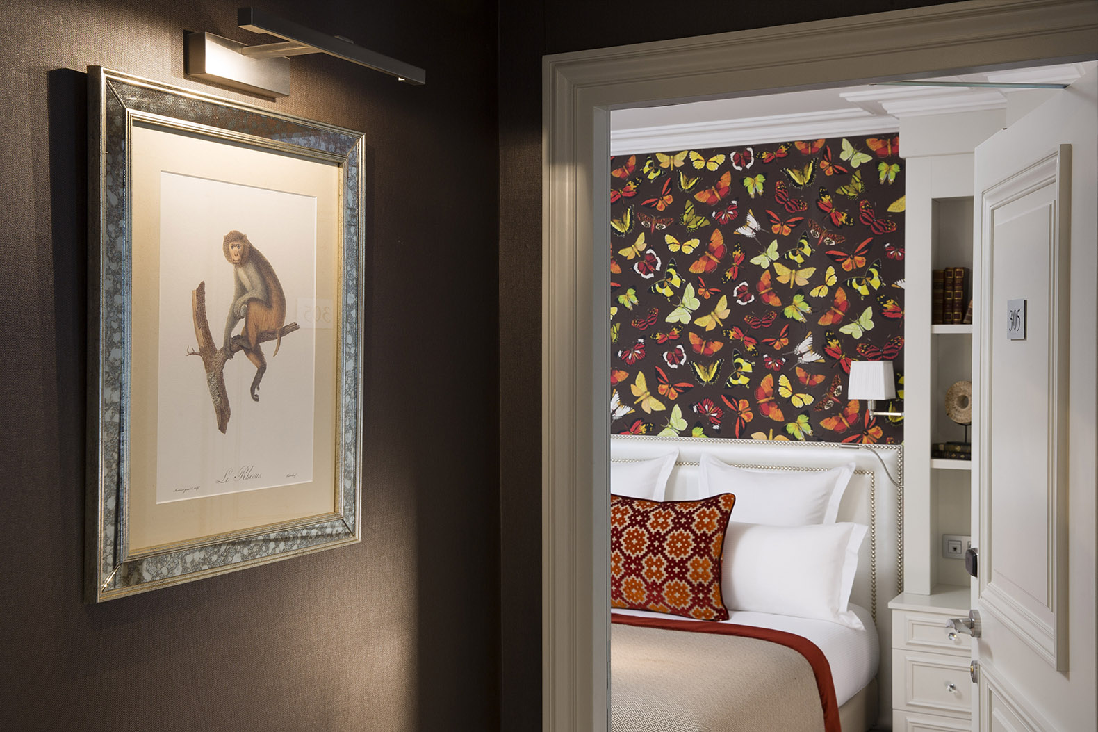 Tableau Chambre Hotel Monge