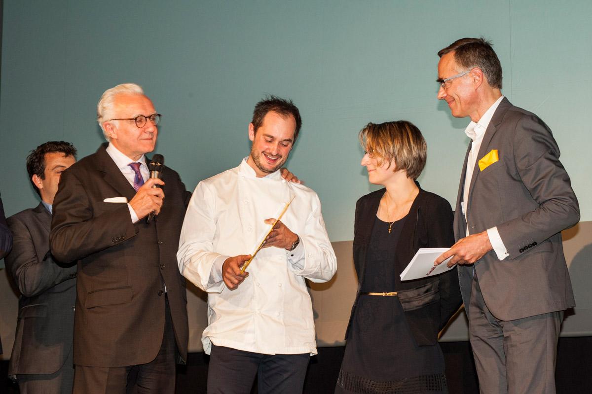 Alain Ducasse, Alexandre Couillon cuisinier de l'année 2017 France, Côme de chérisey