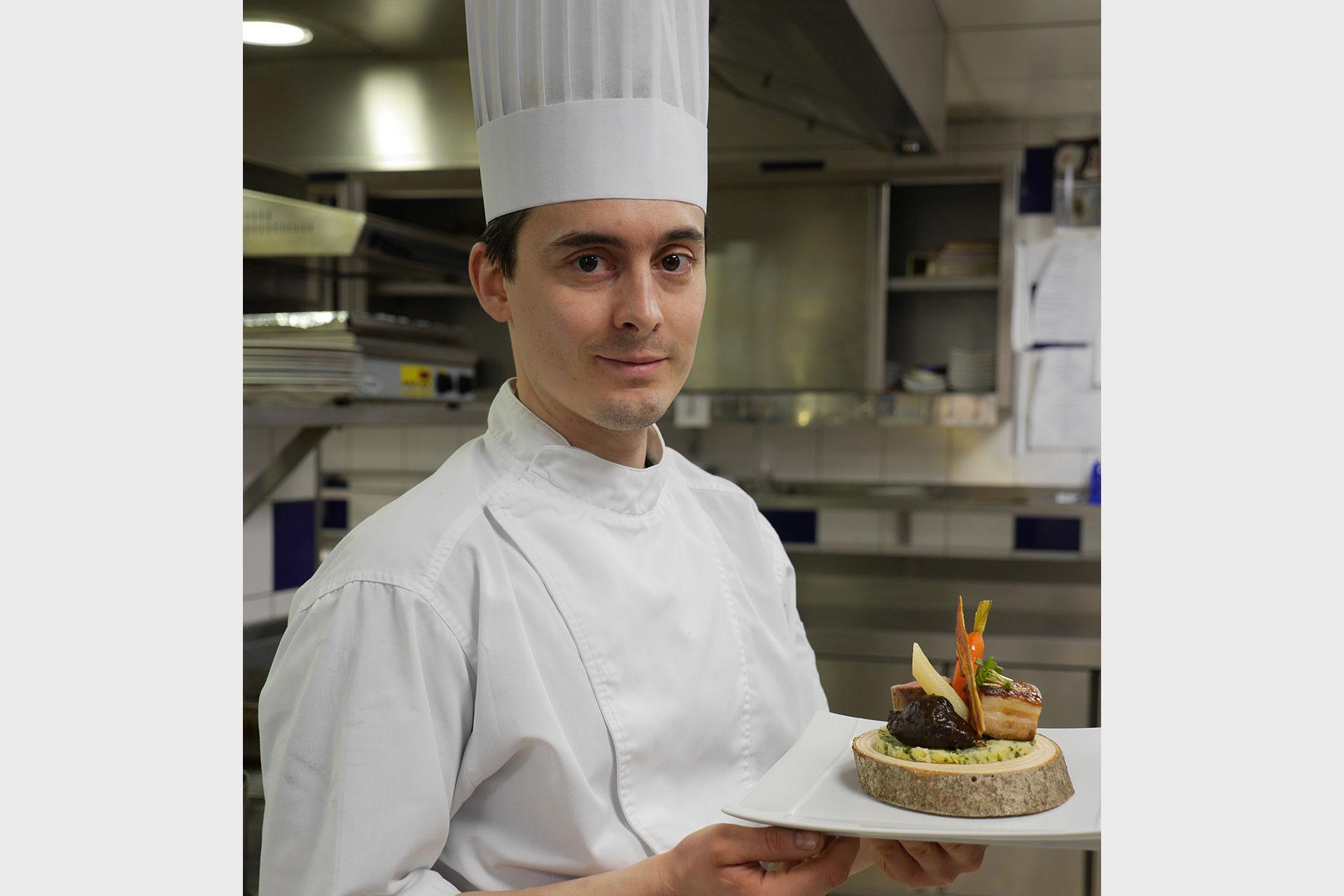 Jérôme Badonnel, Chef de restaurant les Bas Rupts