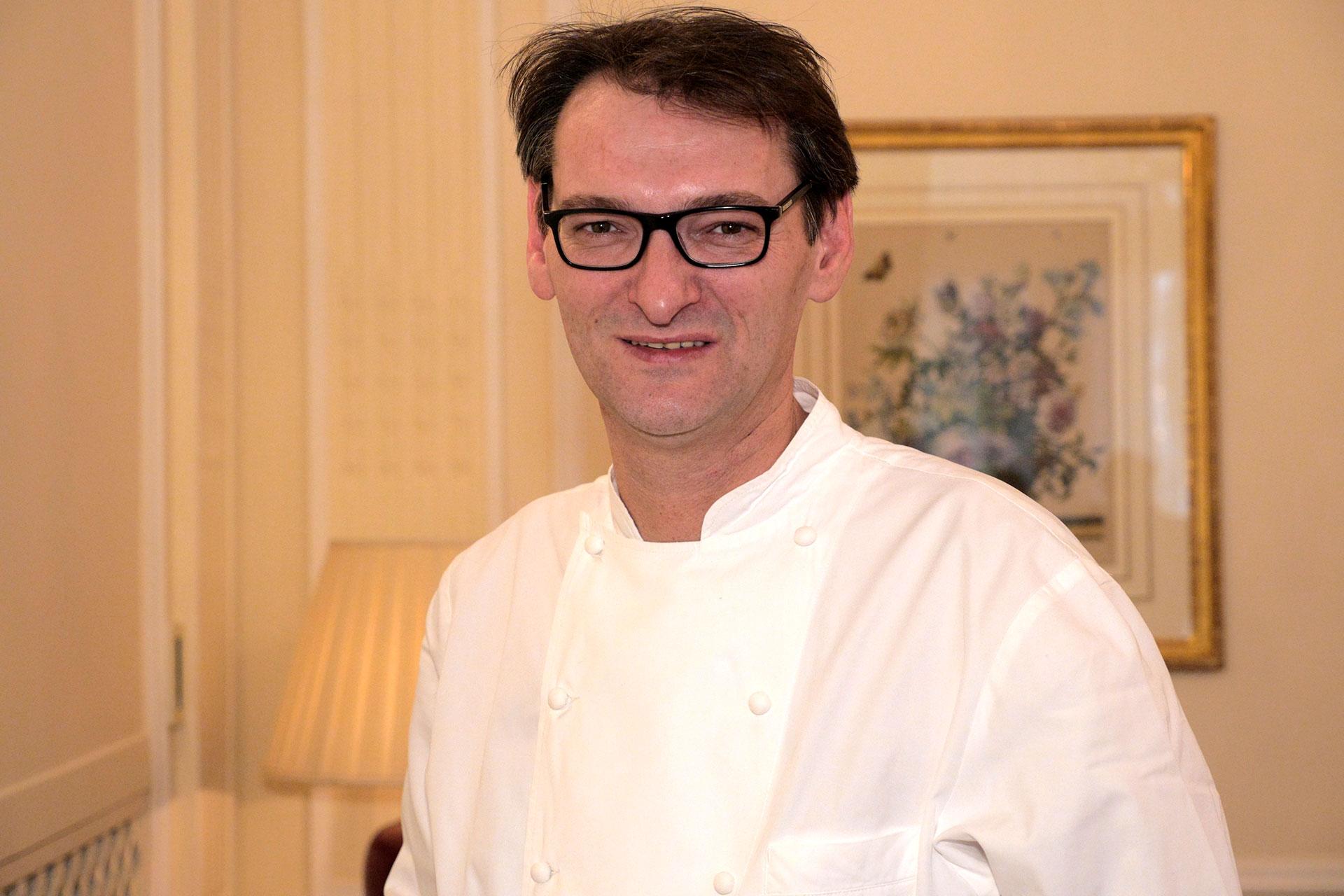 Laurent Jeannin Chef Pâtissier de l'hôtel Bristol
