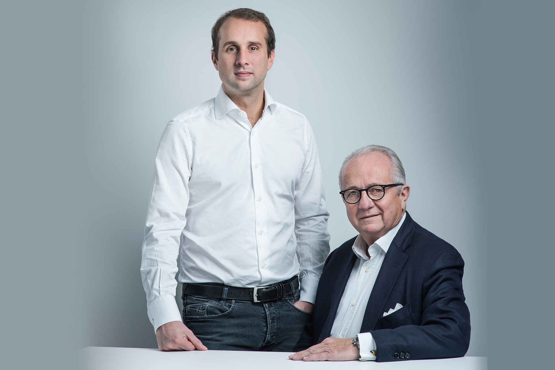 Maxime Leysen et Henri Leysen