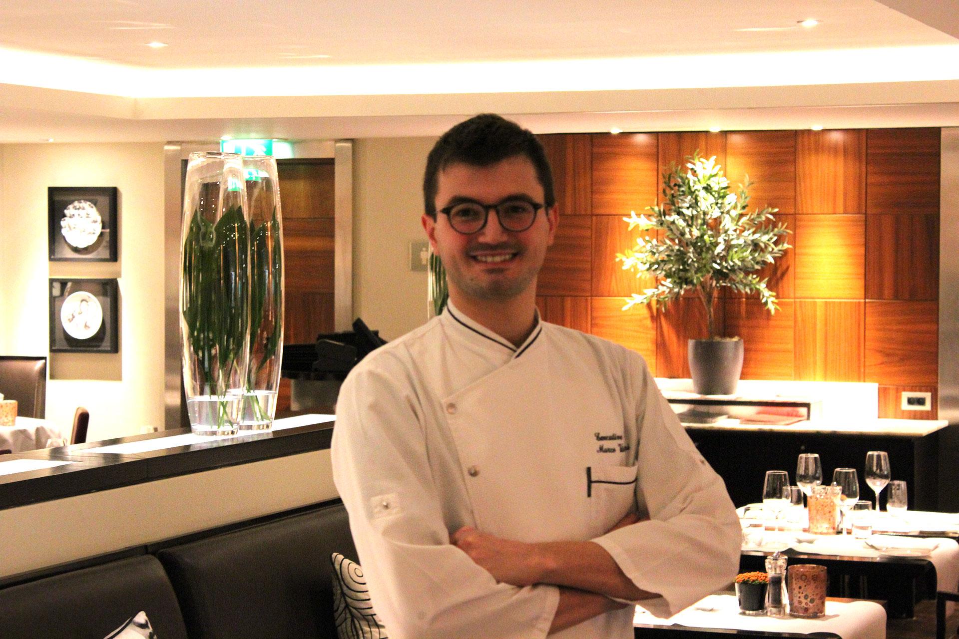Marco Visinoni, Chef restaurant Bocconi