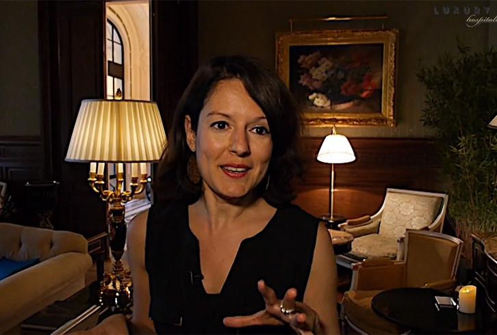 Mélanie Hubert, Hôtel Shangri-La Paris