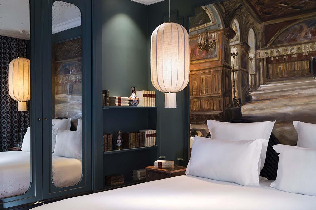 Le Monte Cristo Paris chambre