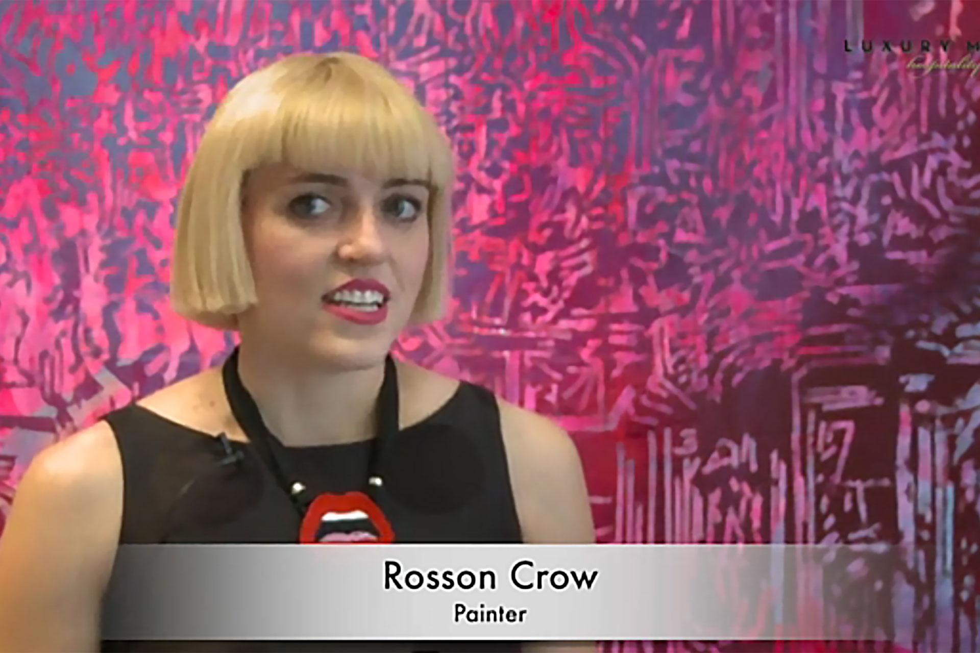 Rosson Crow. Hôtel Royal Monceau