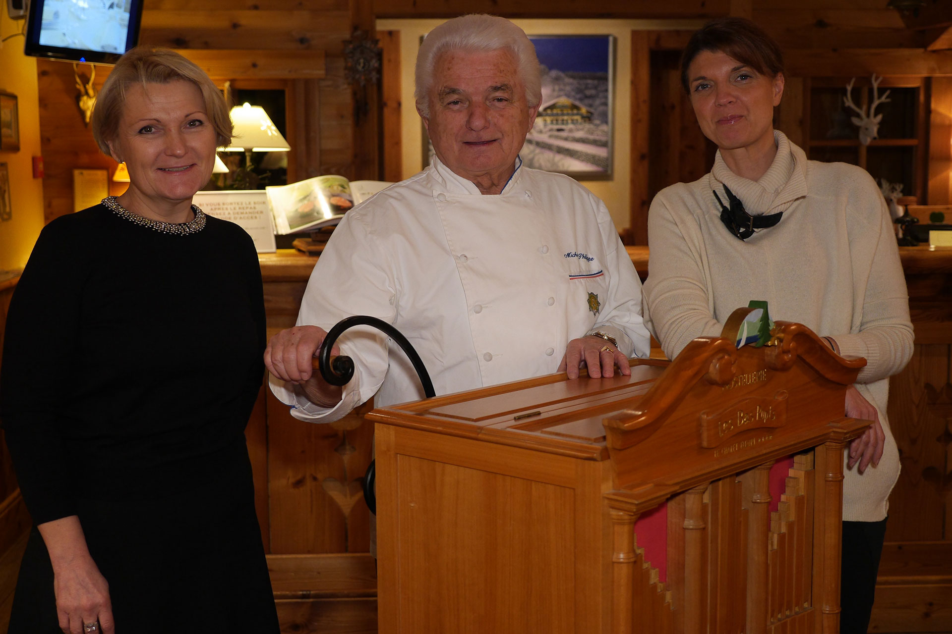 Sylvie Witdouck, Michel Philippe, Catherine Seiler
